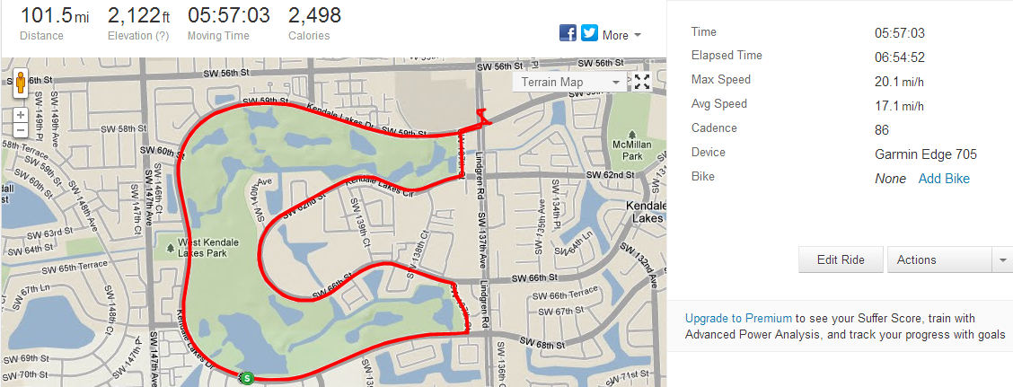 Without a Strava file, it didn't happen, right?